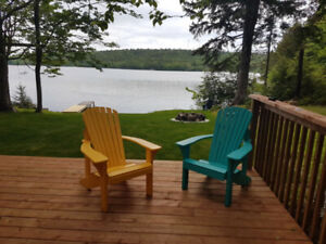 Beautiful secluded private Lakefront Cottage for rent