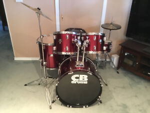 GREAT CONDITION 5 PC CB SP SERIES DRUM KIT