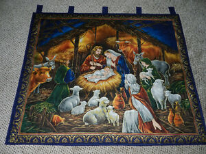 for sale a New Nativity Wall Hanging == only 1 available