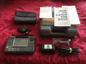 Sony Portable Shortwave Radio ICF-SW55 Complete Kit Like New