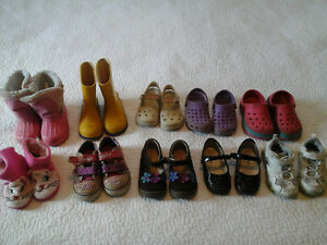 Gently used Girls Shoes Size 7 & 8