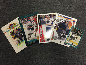 Good Condition- Oversized Hockey Card Insert Cards