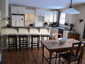 Furnished 3 bedroom home -Charlottetown- available Feb-June/18
