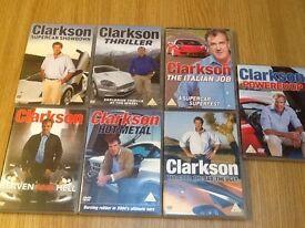 7 Clarkson DVD 's