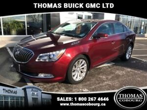 2015 Buick LaCrosse Leather  SUNROOF, LEATHER, LOW KMS!