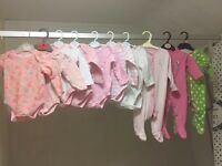 Baby girls 3-6 clothes
