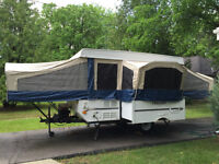 12' Tent Trailer with dining slide out