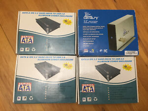 4 Hard Drive Enclosures for $50 obo