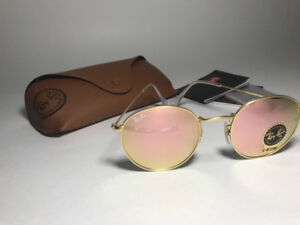 Ray-Ban Round Metal Rose Gold