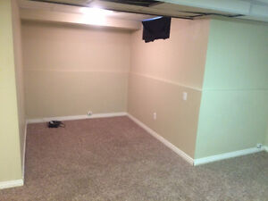 Basement for rent in 3 bedroom townhouse (Students Welcome)