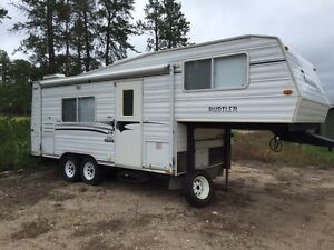 2001 Travelaire Rustler 24 ft 5th wheel