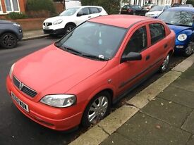 Vauxhall Astra 1.6SXI 2002