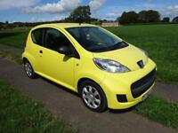 Peugeot 107 1.0 12v 2011 Urban Lite In Yellow