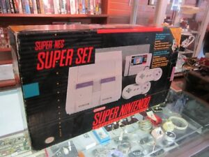 SUPER NINTENDO SYSTEM In The Box For Sale!!