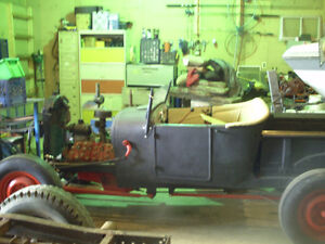 1927 T-bucket rat rod