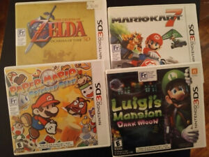 Nintendo DS & 3DS games. Gameboy Advance Wii Gamecube N64 & more