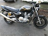 Yamaha xjr1300 2008 low miles stunning condition px car or bike cash either way