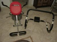 Ab exercise machines
