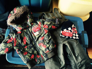 Size 2 Cars Winter clothing