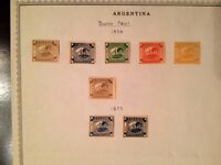 Timbre Argentine 1850 1859