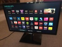 "25"" Samsung LED smart WiFi full HD freev iew built in"