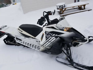 Arctic cat snowmobile very fast