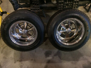 One set of 4 Vintage 1980's Cragar SS Chrome rims for sale