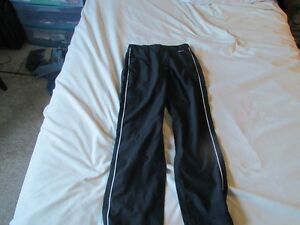 Womens Black Nike Track Pants Size Small