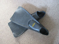 FLIPPERS, heavy duty for serious diving