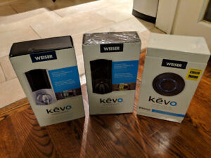 Weiser Kevo and Kevo Convert Smart Locks - unlock w your phone!