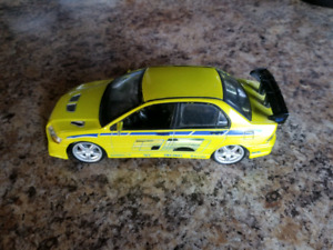 Diecast The Fast and the furious ERTL Evo