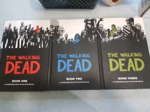 The Walking Dead Graphic Novels Books 1-3