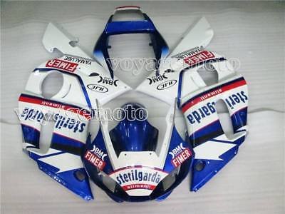 White Blue ABS Injection Fairing Body Kit Fit for Yamaha 1998-2002 YZF R6 q#13