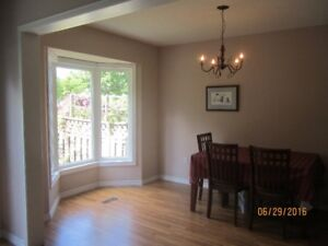 Spacious townhouse for rent in Dundas_Available July 1st