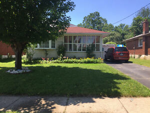 3 bedroom apartment  house w/big yard for rent, mid-Aug/ 2017