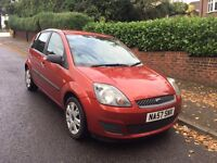 2008/57 Ford Fiesta 1.25 litre Style Climate 5dr LOW TAX & INSURANCE