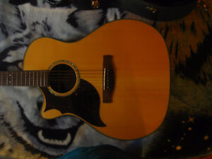 Fender Grand Auditorium Series Acoustic/Electric (With Hardcase)