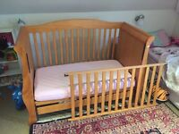 Children's Sleigh Cot Bed