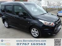 2015 64 FORD TOURNEO CONNECT TITANIUM 1.6TDCI MPV FULL HISTORY 5 SEAT MPV