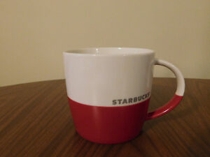 Starbucks Collectible Red/White Coffee Mug