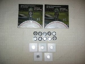 2004 Canadian Open 100 year anniversary golf dimes set