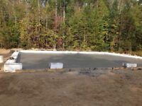 Concrete finisher/carpenter