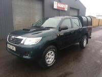 * SOLD * 2012 (62) Toyota Hilux 2.5 D4-D HL2 Double Cab 4x4 Diesel Pickup *67k*