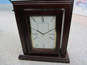 Quartz Clock & Picture (Photo) Frame From Bombay Company