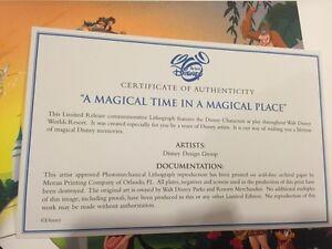 Disney World multi character poster Cambridge Kitchener Area image 3