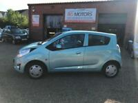 2010 CHEVROLET SPARK LS 1.2 Blue, 5dr Hatch, 19k Miles £30 Tax**ANY PX WELCOME**