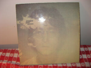 Vinyles 33 tours. John Lennon Imagine