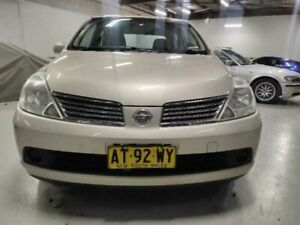 2006 Nissan Tiida C11 ST Gold 4 Speed Automatic Sedan Mitchell Gungahlin Area Preview
