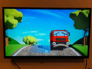 "40"" Hisense flat screen tv"
