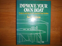 Improve Your Own Boat:  Projects and Tips by Ian Nicolson
